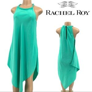 RACHEL Rachel Roy Asymmetric Goddess Dress